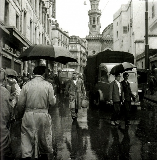 Alger sous la pluie