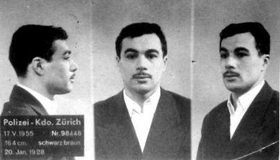 Yacef Saadi, arrestation en Suisse