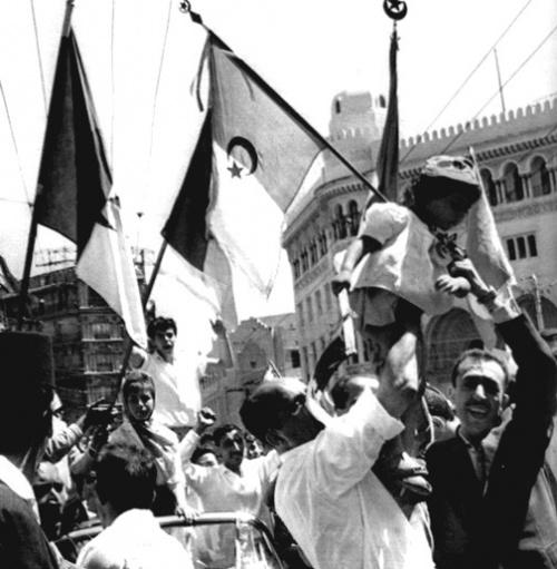 5 juillet 1962, Algérie en liesse