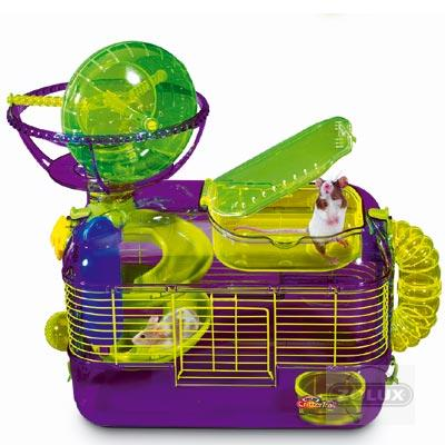 Hamster et roue obligatoire conseill e - La plus grande cage a hamster du monde ...