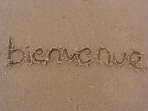 bienvenue dans le sable