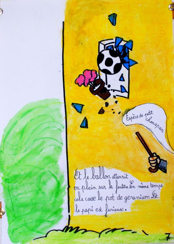 Les corvées de Jojo, par Bruno Heitz et les élèves du CE1