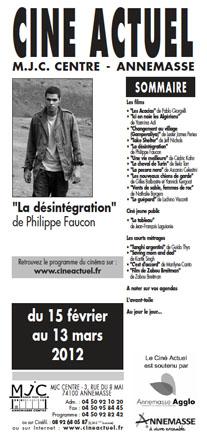 Programme du 15 février au 13 mars 2012