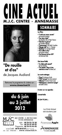 Programme du 6 juin au 3 juillet 2012