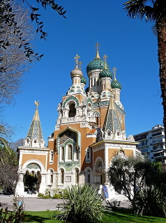 Russian Cathedral of Nice