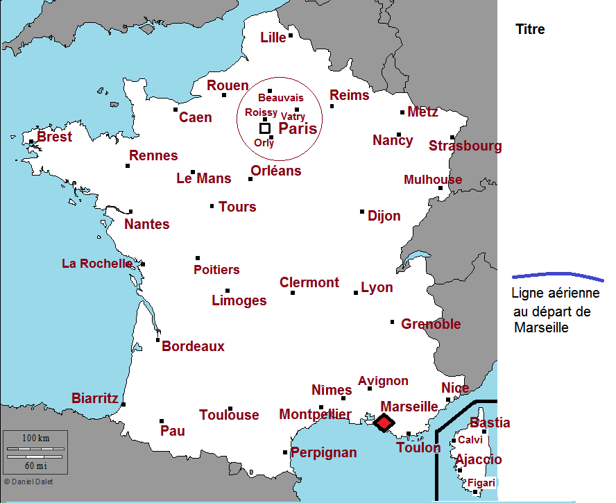 carte de france cycle 3