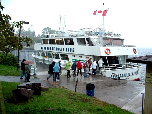Canada: Gananoque et la région des 1000 îles