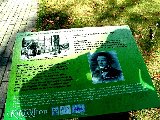 Canada:Carnet devoyage, Knowlton ,un des plus beaux villages au Québec