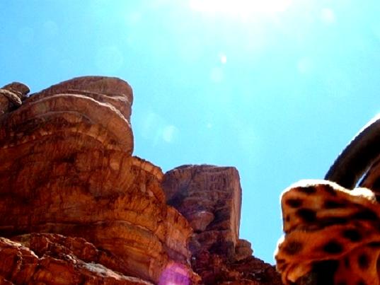 Jordanie : Le Wadi-Rum,un site naturel reconnu par l'Unesco en 2011