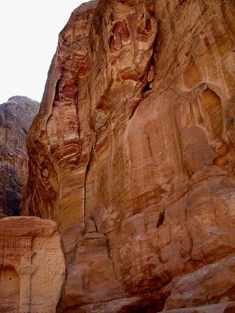 Jordanie: Site de PETRA, une cité antique, une ville rose............