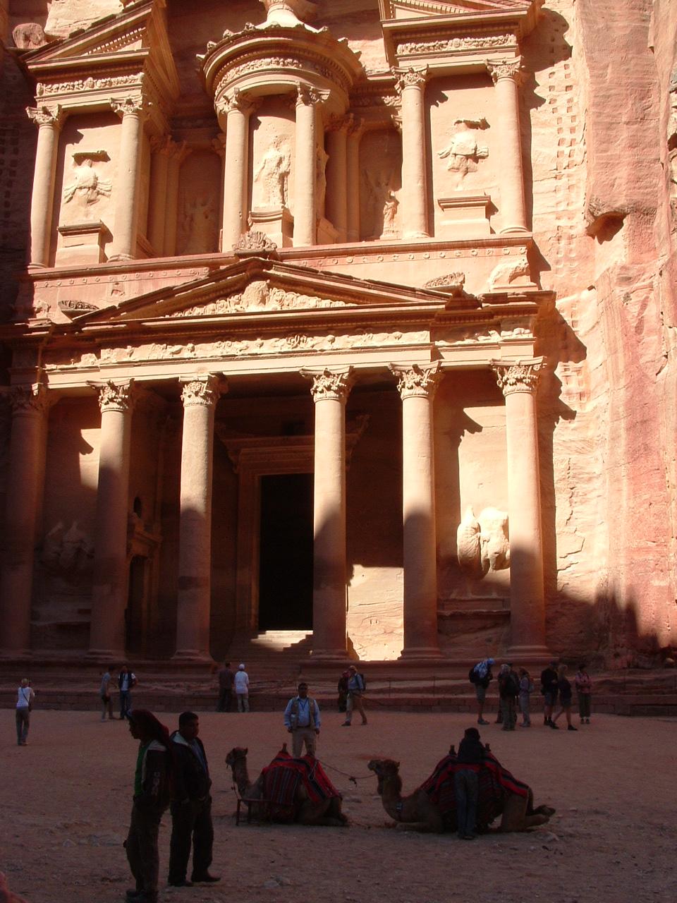 Jordanie, Pétra et El Khazneh le trésor