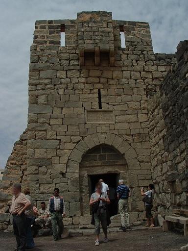 Jordanie : les châteaux du désert « Al-Azraq » la forteresse de basalte noir de «Laurence d'Arabie»
