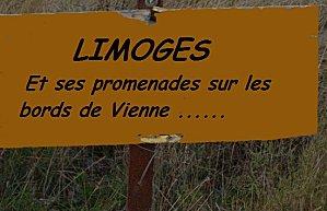LIMOGES, en suivant ses bords de Vienne