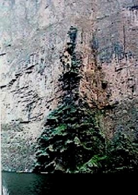 Mexique:Le canyon d'El Sumidero,