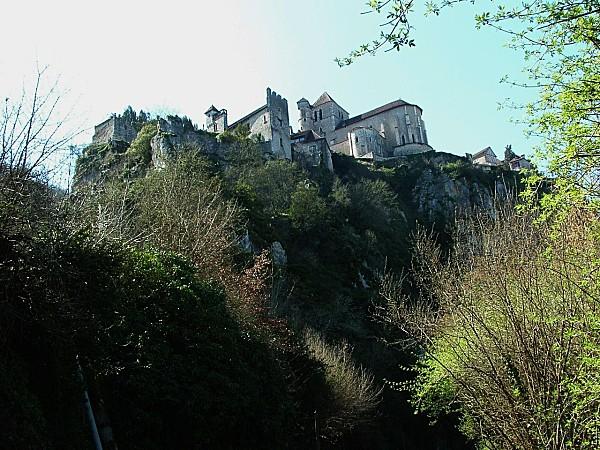 La vallée du Lot . Une sortie à  Saint Cirq-Lapopie