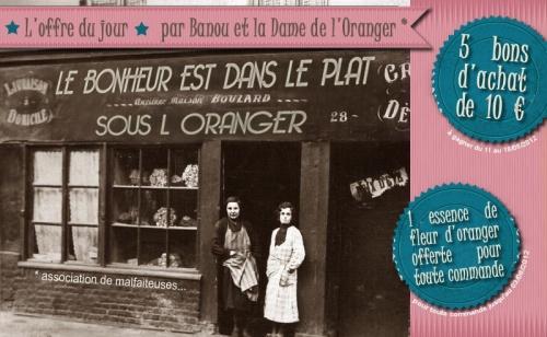 """J'ai testé pour vous """"Sous l'Oranger"""" [surprise inside]"""
