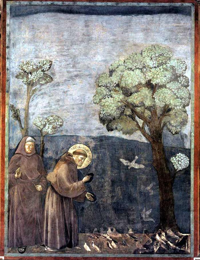François d'Assise, le saint qui parlait aux oiseaux