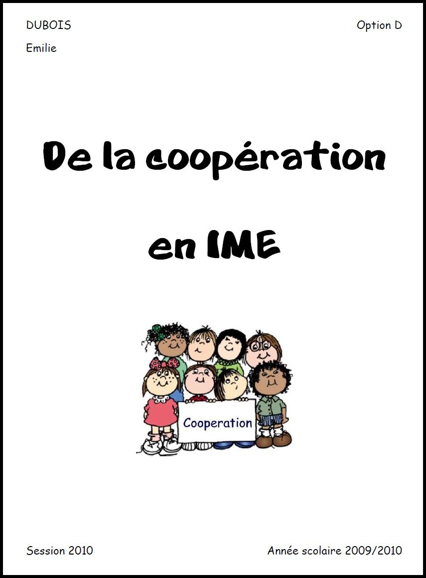 image mémoire coopération