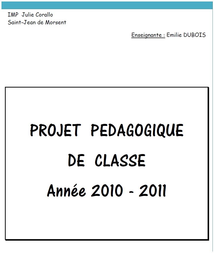 image projet classe