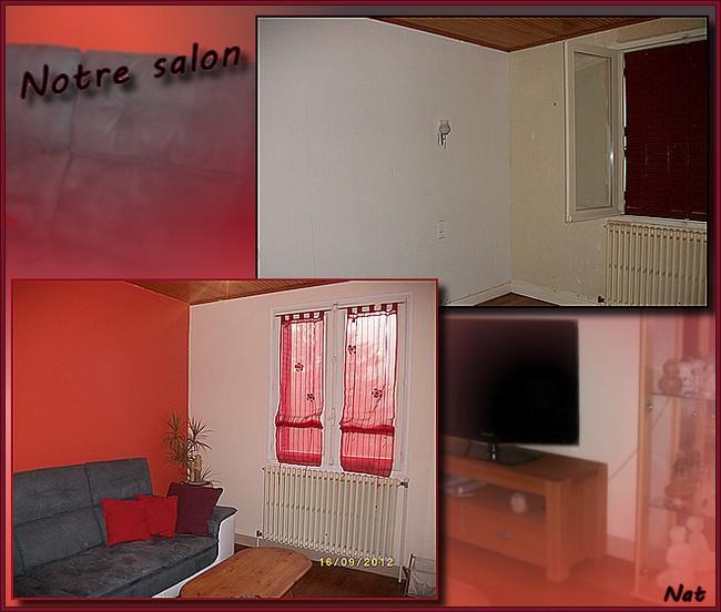 Enfin notre salon ......