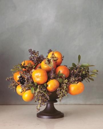 Bacs arrangements fruit