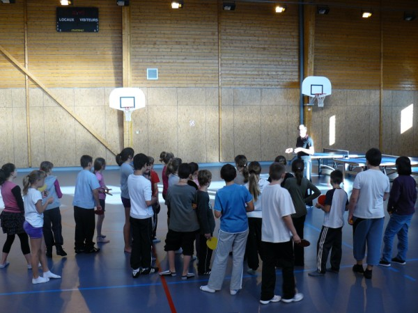 26/10/2011 - Atelier Tennis de Table